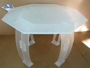 Atout Plastic - Table PMMA satinée