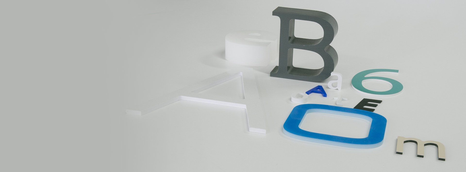 decoupe de lettres - Atout Plastic