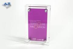 Trophée plexiglass - Atout-Plastic