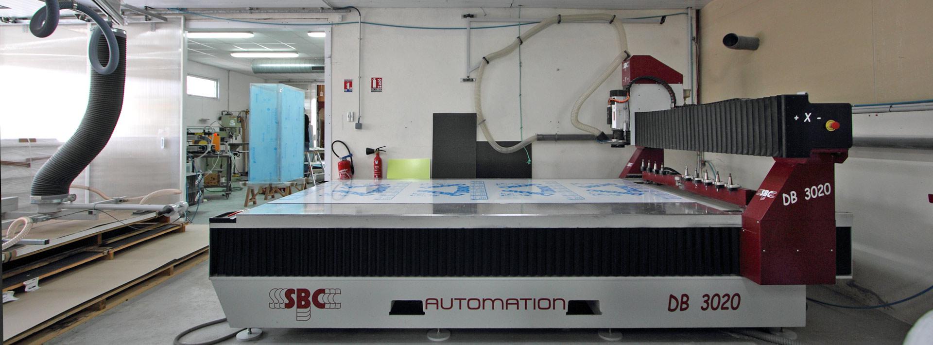 Un parc de 2 machines SBC DB3020