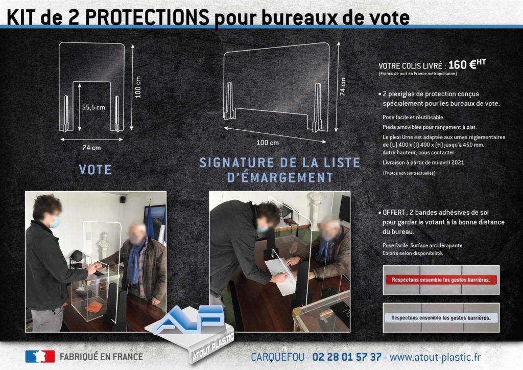 Kit Plexis Bureau de vote